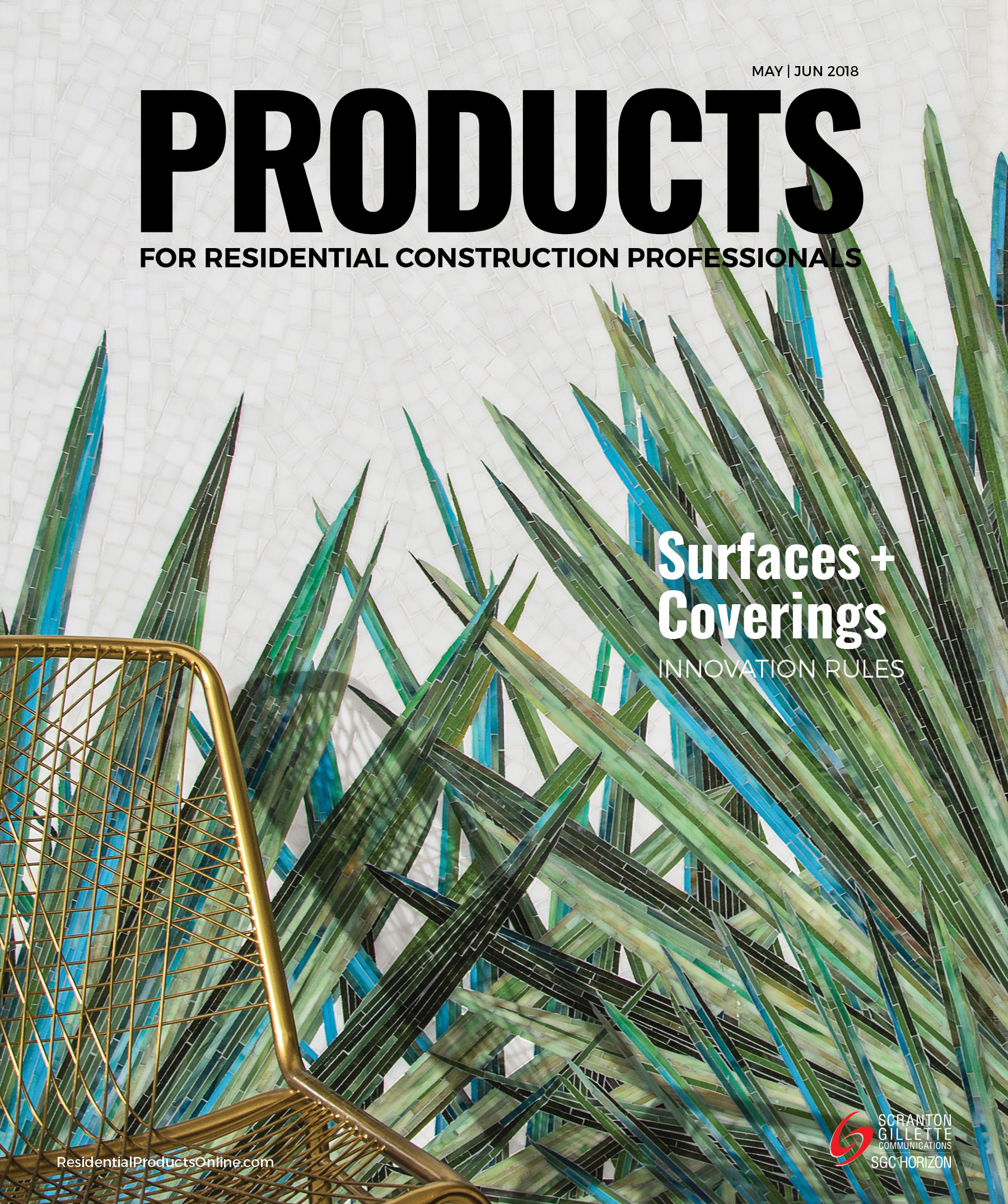 PRODUCTS cover May and June