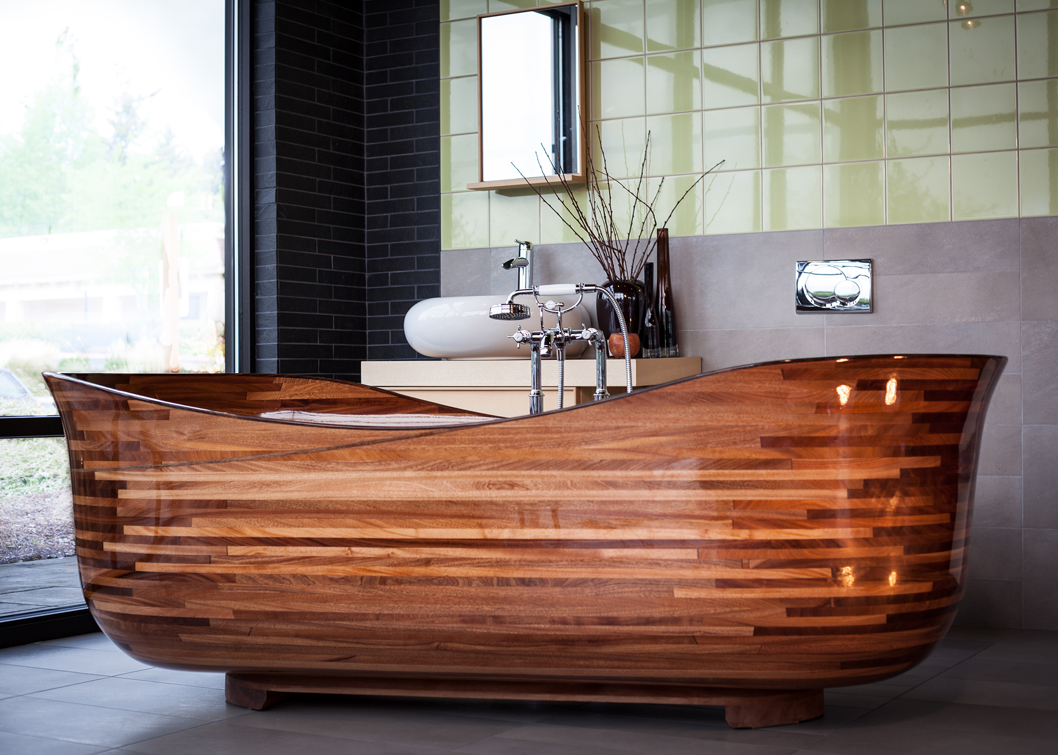 This Seattle Woodworking Shop Produces Finely Crafted Tubs