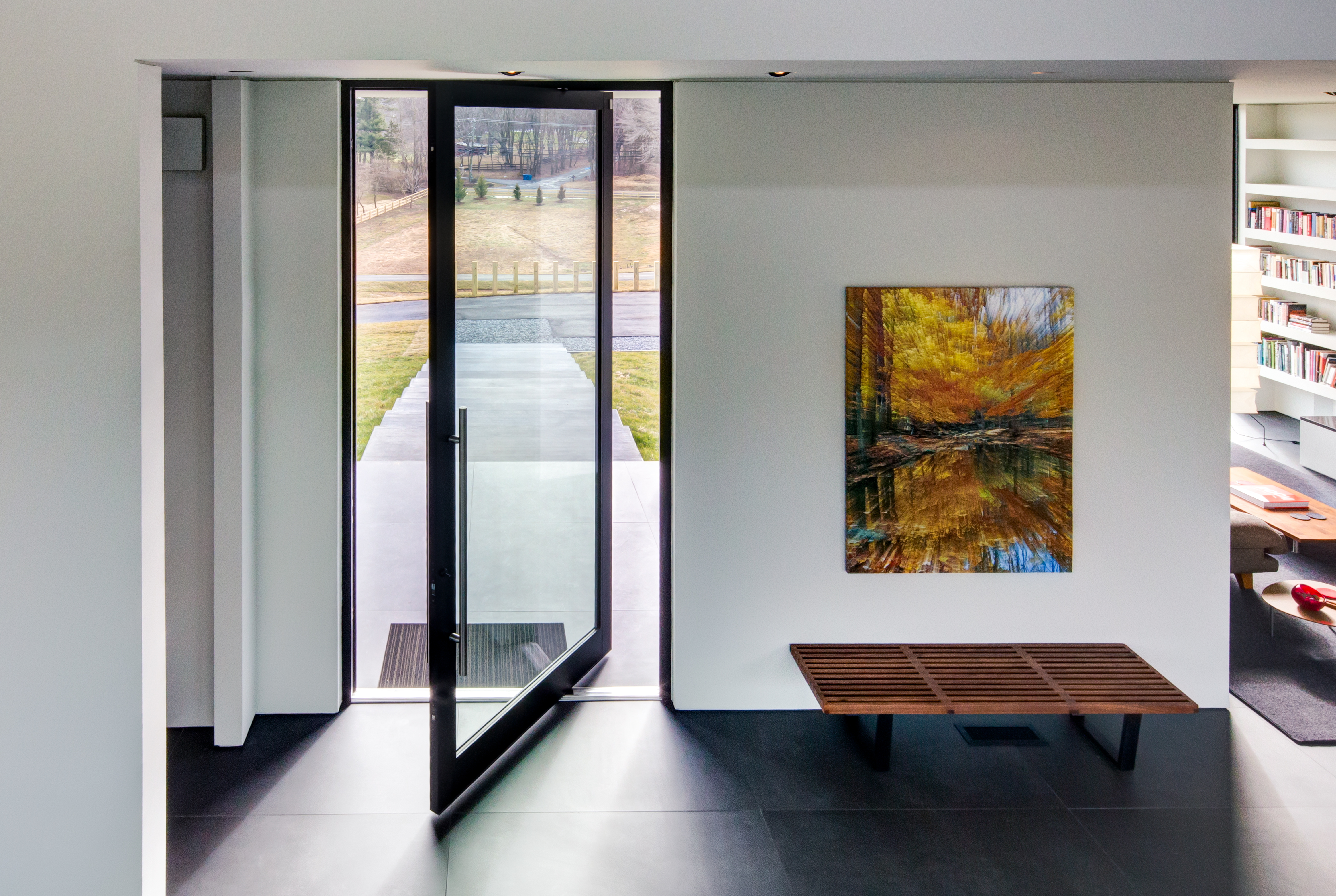 Western Window Systems Adds Pivot Door To 7000 Series Residential