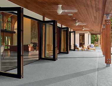 Marvin s clad ultimate bi fold door residential products for Marvin folding doors