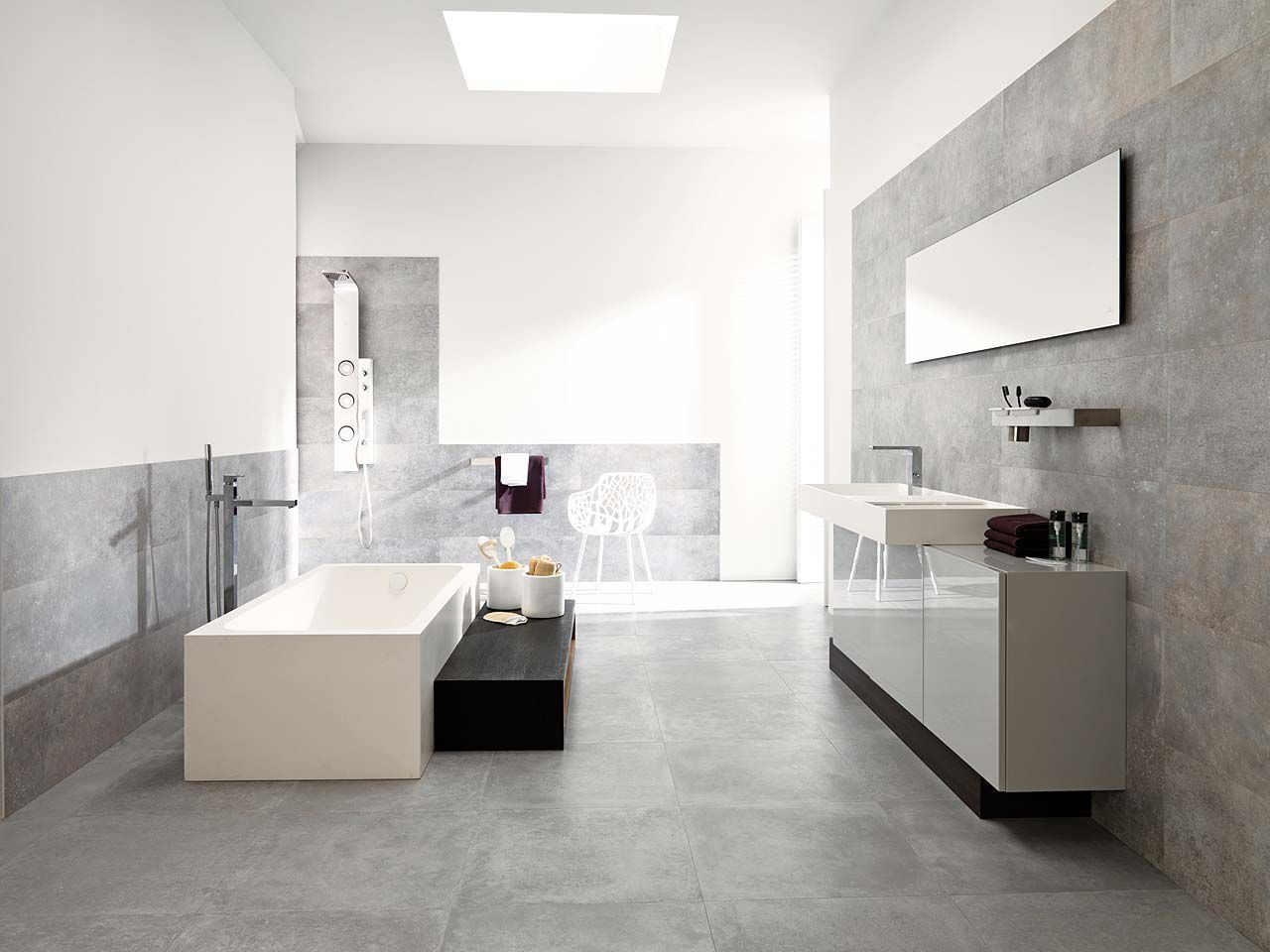 Simple bathroom design ideas you should be using right now for Porcelanosa bathroom designs