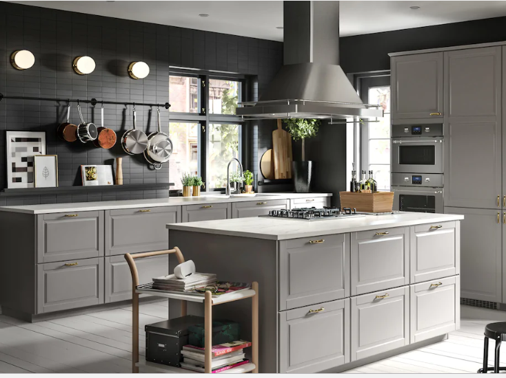 gray ikea kitchen cabinets ikea tops j d power s kitchen cabinet satisfaction study 3921