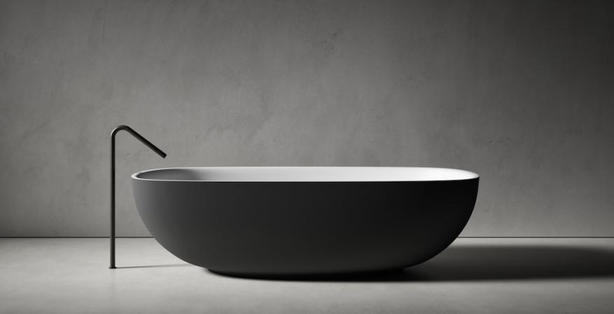 Boffi Lissoni Faroe bathtub