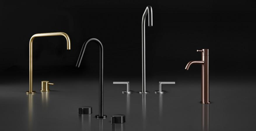 BluBathworks Inox stainless steel faucets
