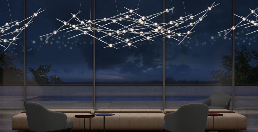 Sonneman Constellation light