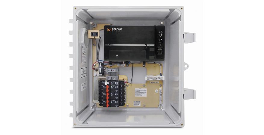 Enphase battery system