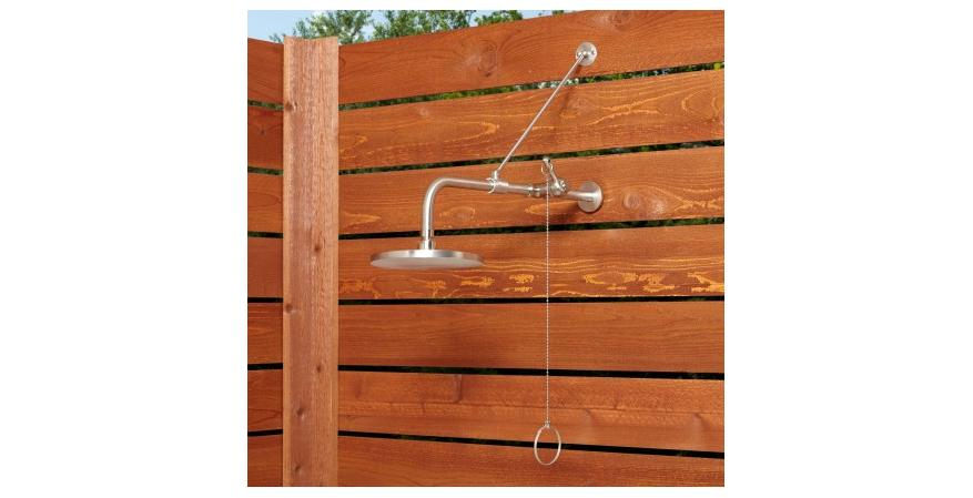 7 Outdoor Shower Ideas For When The Weather Gets Warm