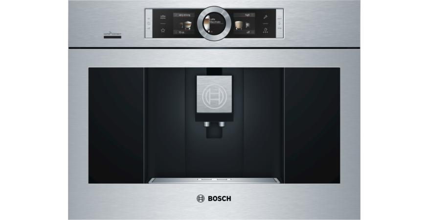 Bosch Home Connect built-in coffee system