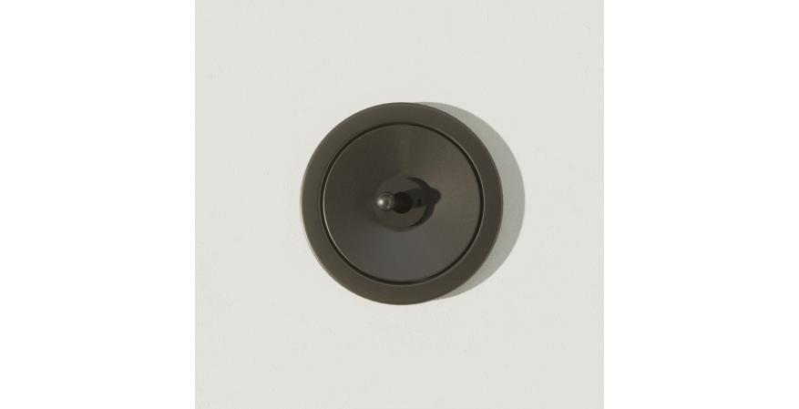 Juniper Ground Control toggle switch black oxide