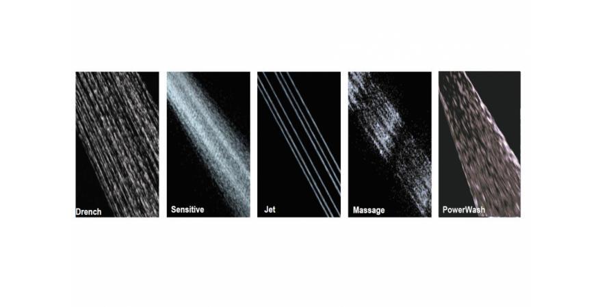 American Standard Spectra+ spray pattern options