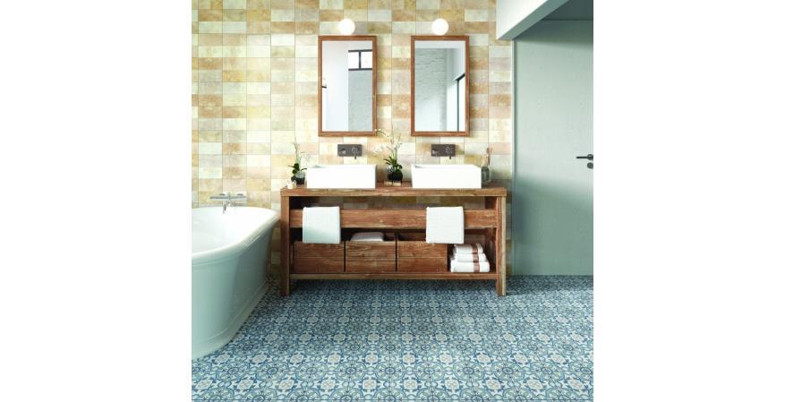 Aparici Bondi cement tile flooring