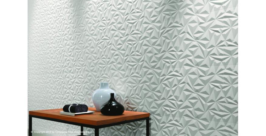 Atlas Concorde 3D WallDesign textured ceramic wall tile