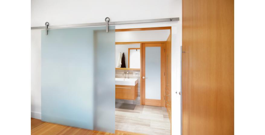 Krownlab Has Introduced A Hubless Sliding Door Hardware System That Can Be  Installed In Three