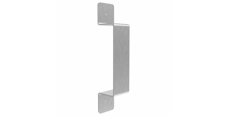 Federal Brace Stainless steel Rustic flat Door Handle
