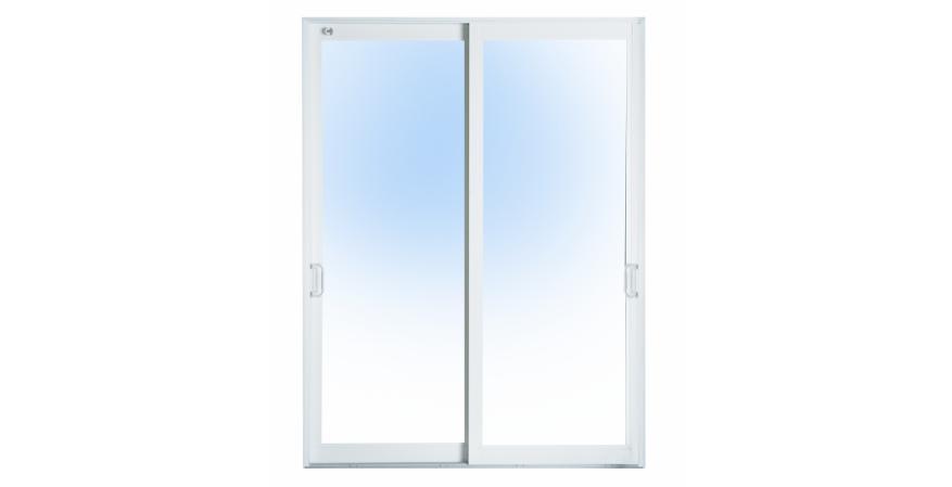 CGI Sliding Door in white