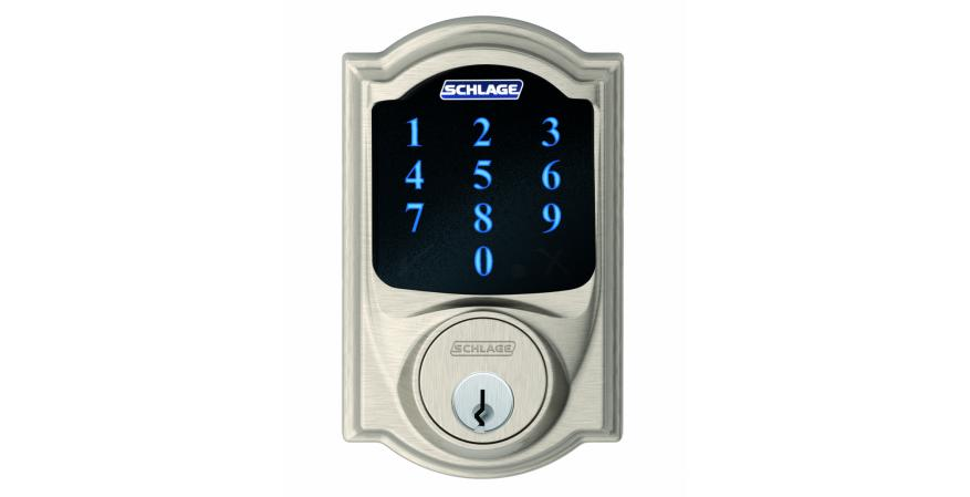 Lock brand Schlage has expanded its Connect touchscreen deadbolt to integrate with Amazon Alexa, allowing homeowners to use voice activation to lock and check status of the front door.