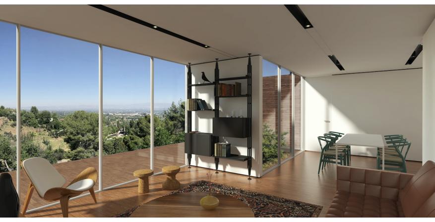 Cover prefab Hillside Studio Interior