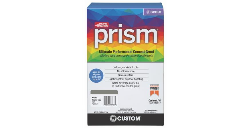 Custom Building Products prism cement grout