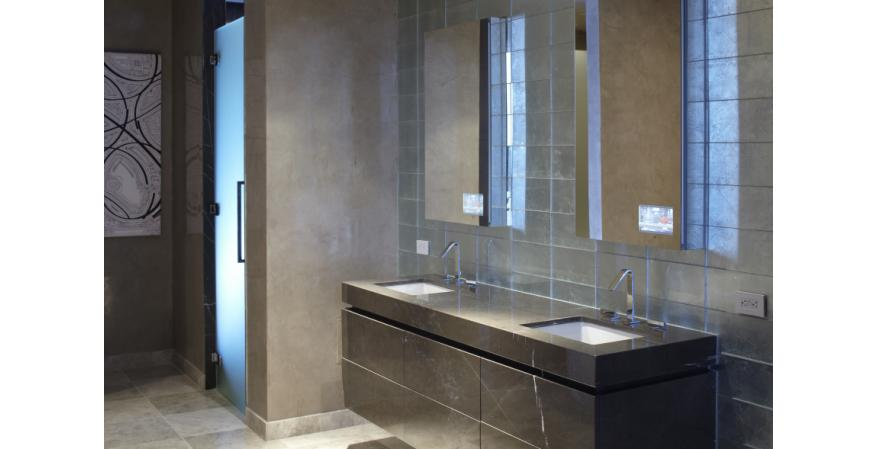 Bath products manufacturer Robern has launched a new line of lighted wall mirrors that lets designers and architects customized their options in various ways.