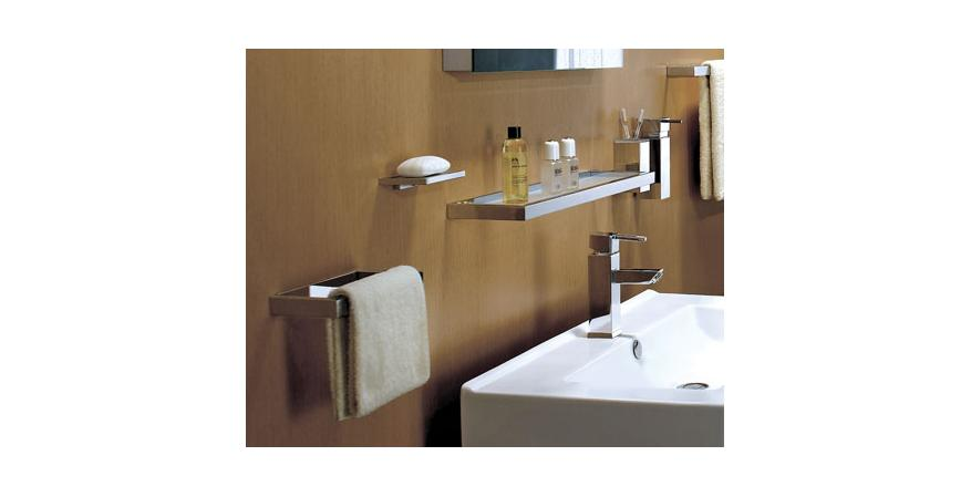 Soap shelf, soap dispenser, tumbler holder, and more