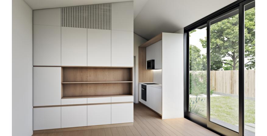 LivingHomes Accessory Dwelling Unit interior