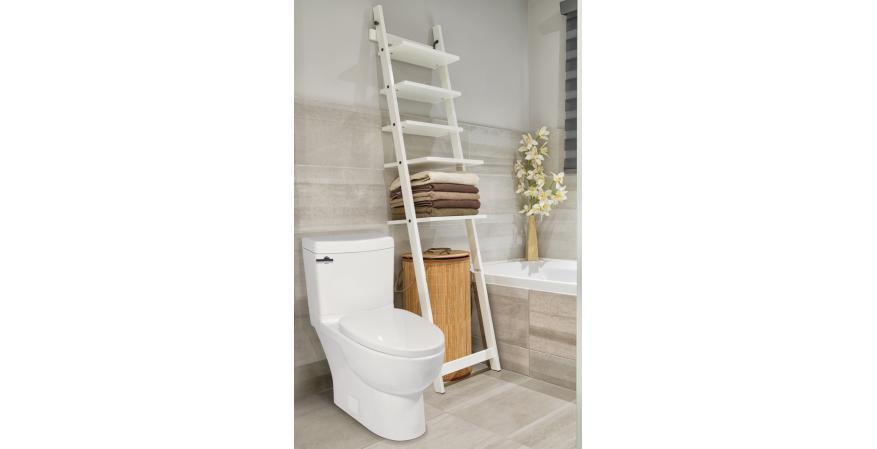 ICERA USA Malibu II low flow toilet for small bathroom 10 inch