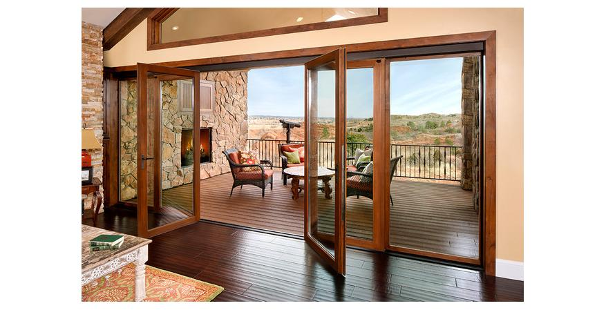 NanaWall bi Folding Patio Door