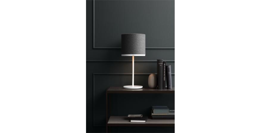 Pantone Capella lamp with Sargas shade