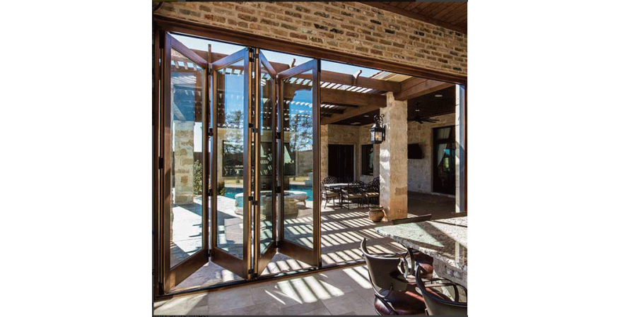 Pella bi folding patio door