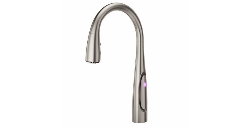 WOW handleless faucet from Pfister
