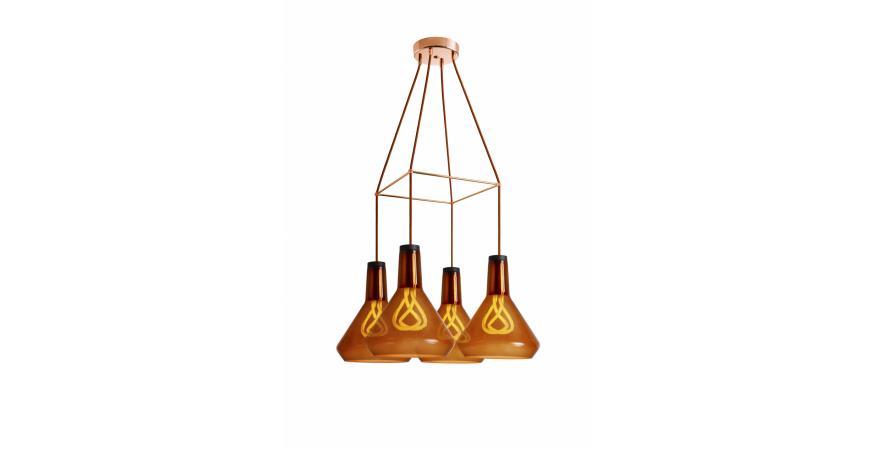 Plumen modular lighting chandelier