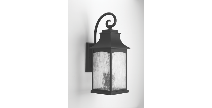 Progress Maison outdoor wall sconce black finish