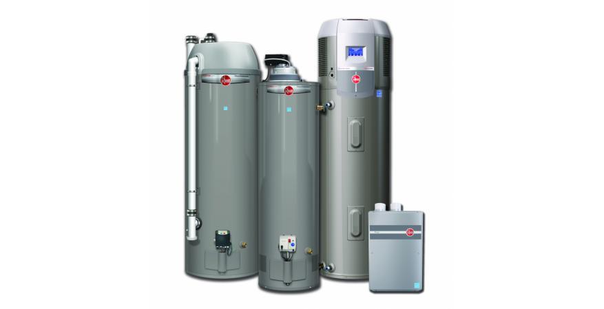 Rheem Energy Star XR90 gas hybrid electric heater