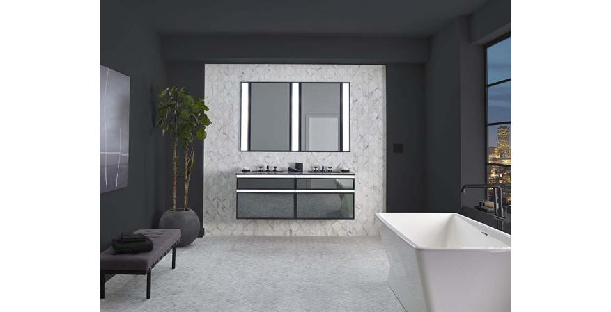 Robern Profiles collection lighted vanity