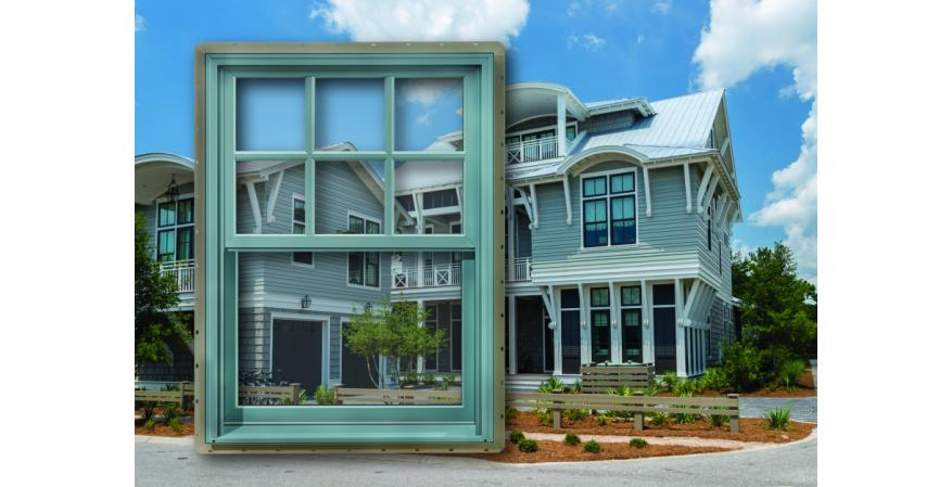 The manufacturer's impact-rated H3 FeelSafe windows are designed for building requirements along the East Coast, with a DP +50/-60 rating to meet Zone III requirements. Products feature a continuous head and sill and come in a full range of design options, including colors, hardware finishes, and powder-coat colors.