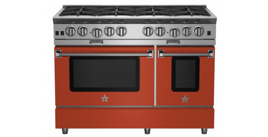 The eight colors in the company's new Matte collection boast a smooth, velvety finish that is understated yet design-forward. The pro-style appliances are constructed with commercial-grade stainless steel.