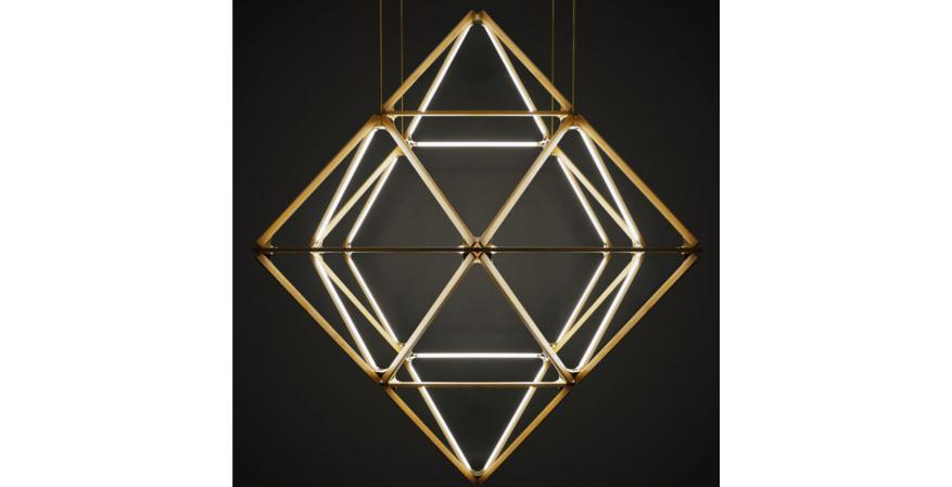 A custom Stickbulb lighting fixture.