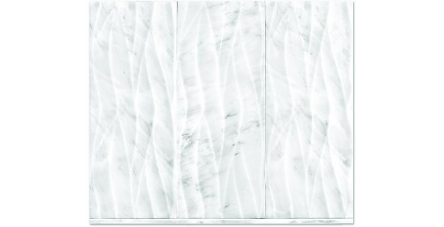 The Tile Shop Hampton Engraved marble wall tile