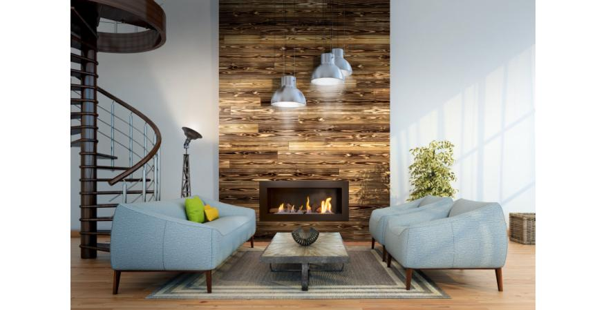 Manufacturer Introduces Pre Charred Wood Shiplap And