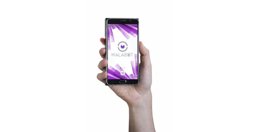 Vayyar Imaging 3D imaging sensor tool in a person's hand