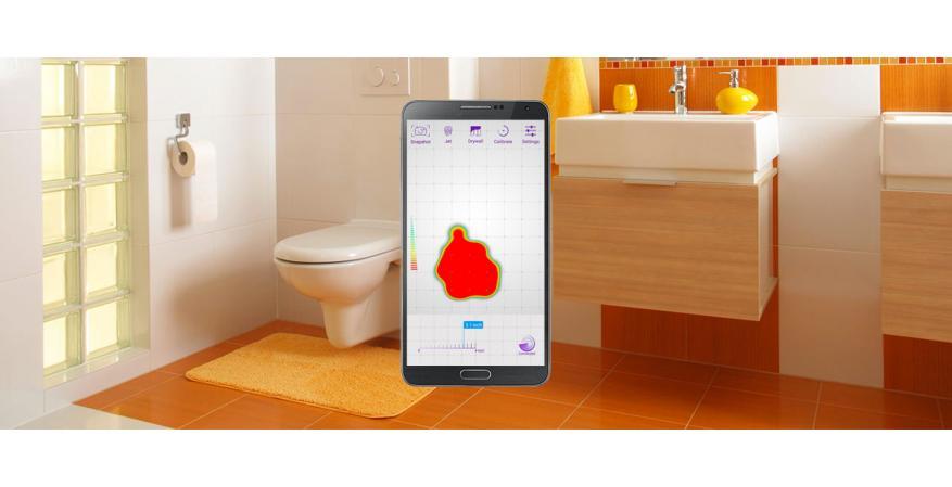 Vayyar Imaging 3D imaging sensor tool on a table
