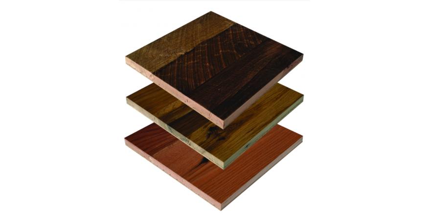 Veridian Reclaimed Wood panel flooring