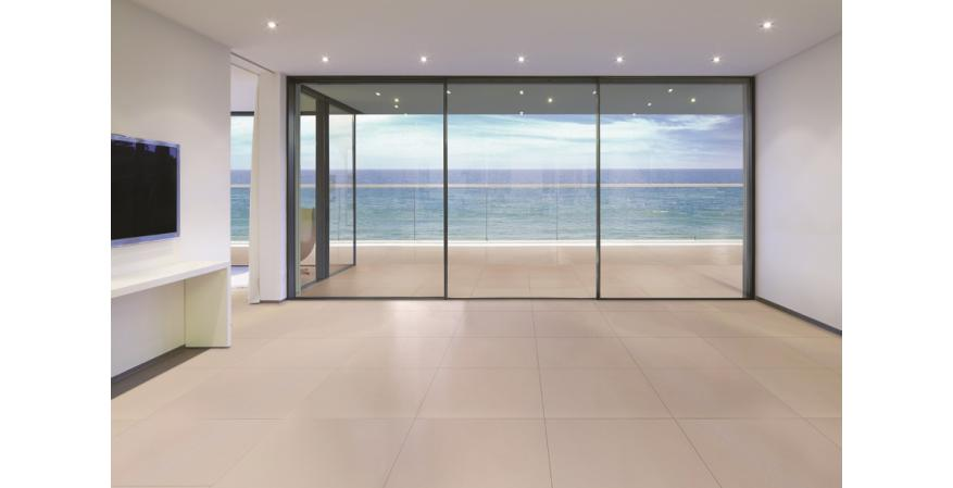 NanaWall Systems, the well-known manufacturer of folding and sliding doors, has developed a new high-end product line featuring large panels and narrow frames.