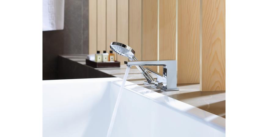 Hansgrohe Introduces Contemporary Metropol Bath Faucets ...