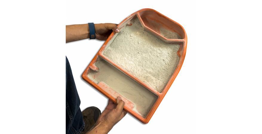 IG tile saw iQTS244 dust containment