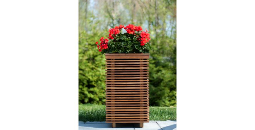 outdoor planters with a built-in sound system