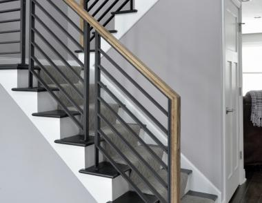 LJ Smith Stair System Linear Metal Panel System