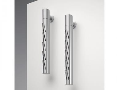 Zazzeri Z316 stainless steel collection vertical showerhead