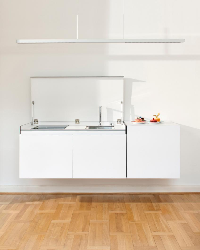 The Miniki Slimline Is a Full Kitchen That Looks Like a Sideboard ...