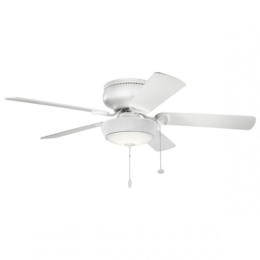 Bluetooth ceiling fan light from Kichler on a five-blade fan  sc 1 st  Residential Products Online & Bluetooth Ceiling Fan w/ Audio | Residential Products Online